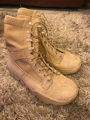 Rocky Lightweight Commercial Military Boot Speed lace eyelets and NATO hooks