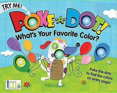 Poke-A-Dot - What's Your Favorite Color  (ExLib) by Innovativekids