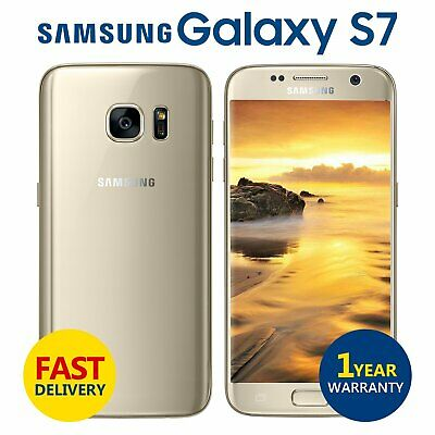 Samsung Galaxy S7 32GB Android Unlocked Mobile Phone Gold Grade A+++