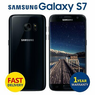 Samsung Galaxy S7 32GB Android Unlocked Mobile Phone Midnight Black Grade A+++