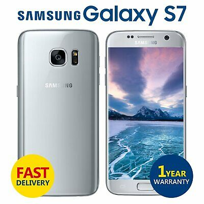 Samsung Galaxy S7 32GB Android Unlocked Mobile Phone Silver Grade A+++