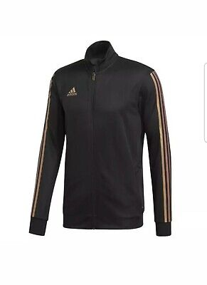 adidas Men's Tiro Track Jacket Black/Nude Pearl Essence DZ8784 Size 2XL