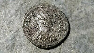 Ancient Roman Bronze Double Denarius, Emperor PROBUS, 276-282 AD, Tramples Enemy