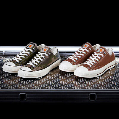 Carhartt WIP x Converse Chuck Taylor 70s OX Low 1970s Camo Olive Brown Duck