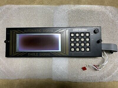 Eagle Traffic Control Siemens EPAC 300 Front Panel Assembly BAD LCD Good Keypad