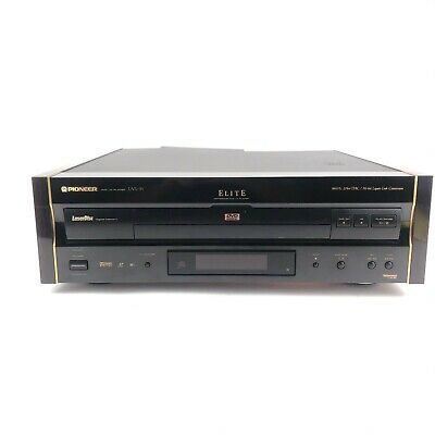 Vintage Pioneer ELITE DVL-91 LaserDisc Player w/ Wood Sides Tested #1