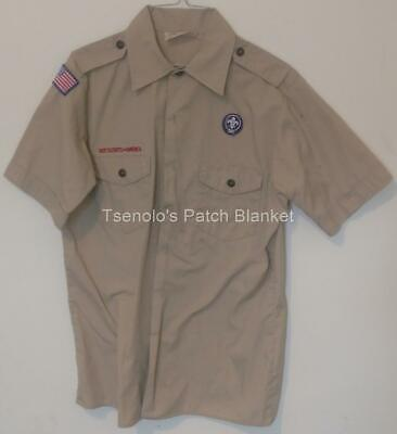 Boy Scout now Scouts BSA Uniform Shirt Size Youth X-Large SS FREE SHIPPING 035