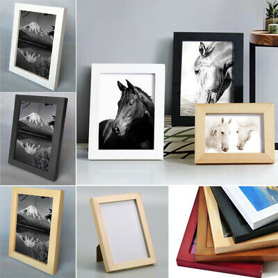 Wooden Frame A4 A3 Picture/Photo/Poster Frames Tabletop Display Wall Mount