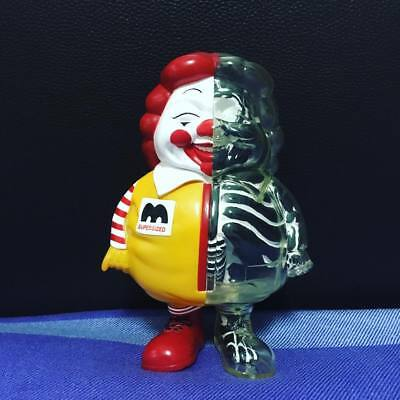 X-RAY MC SUPERSIZED 2009 Ron English x Secret Base Toy Tokyo  RARE Black 2