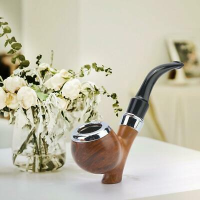 Smoking Pipe Durable Tobacco Retro Vintage Wooden Pipes Cigar Cigarette Gift