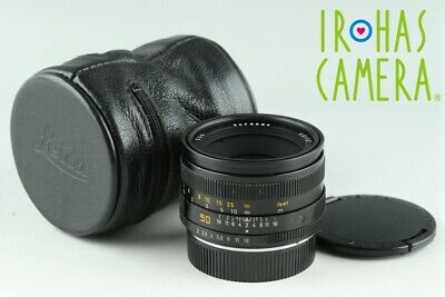 Leica Leitz Summicron-R 50mm F/2 E55 R-Cam Lens for Leica R #22319 H2
