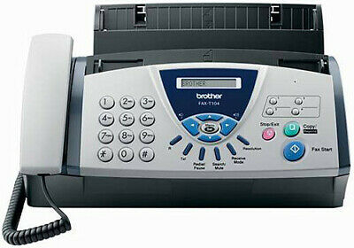 NearNew Brother Fax Plain Paper Fax 827 Fax Machine Phone Fax FREE Cartdridge