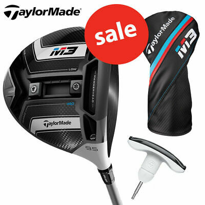 TaylorMade Golf Men's M3 460 Driver Inc Headcover & Tool - NEW! *REDUCED!*