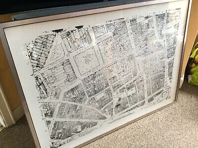 Large Map Of Bath Town Centre