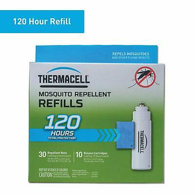 Thermacell Mosquito Repellent Refills, 120-Hr Pack; Contains 30 Repellent Mats,