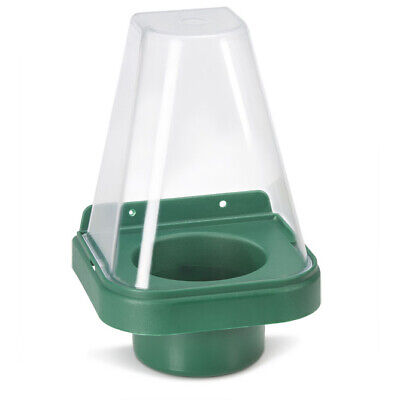 Click Medical Single Eyewash Stand with Cover for 500ml Bottle Green Ref CM1009