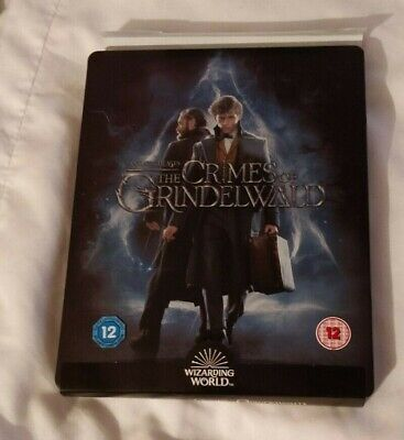 Fantastic Beasts: The Crimes of Grindelwald Steelbook 4K UHD Blu-ray + Extended