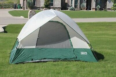 GREATLAND OUTDOORS MODEL 36043 Camping Tent 4 Person 8 5' x 8 5' Nice  Condition