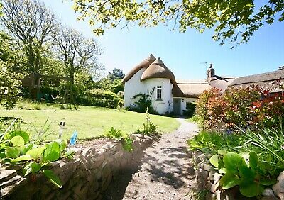 Devon Holiday Cottage Croyde Tennis Beach Dogs Spa SKY July 4/5 pers Woolacombe