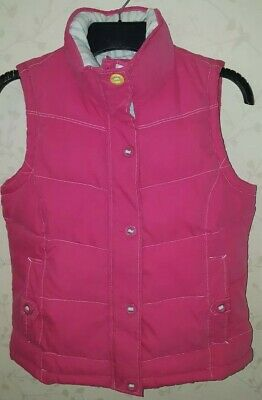 Joules Womens Padded pink Gilet Uk 10