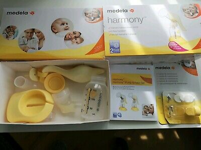 Medela Harmony Manual Breastpump - Yellow used in very good condition