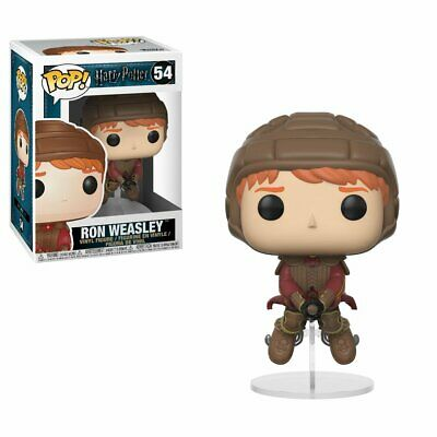 Funko Pop Movies: Harry Potter-Ron on Broom Collectible Figure