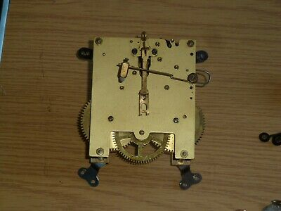 Vintage German mantel striking clock movement - for spares