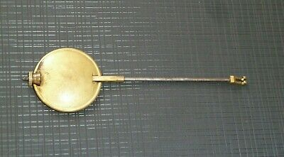 Antique French clock pendulum 14cm long with 41mm bob