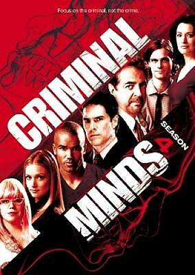 Criminal Minds: Complete Forth Season 4 (DVD) NEW Factory Sealed, Free Shipping