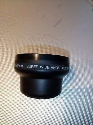Tiffen Super Wide Angle Converter lens 0.5× camera photography filter thread 46