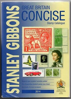 Stanley Gibbons Great Britain Concise 2014 Catalogue - Good Clean Used Copy