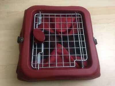 Dog Kennel Travel Small Portable Collapsible Crate Soft Sided Cage Folding
