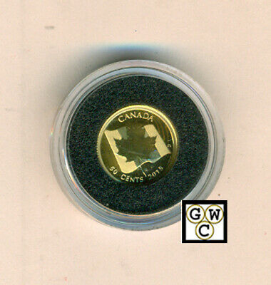 2015 Proof 50-Cent 'Maple Leaf' 1/25oz Gold Coin .9999 Fine (16947) (OOAK)