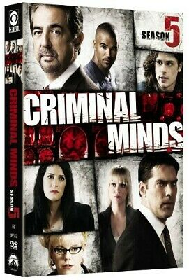 Criminal Minds Complete Fifth Season 5 (DVD) Brand NEW Sealed, Free Shipping