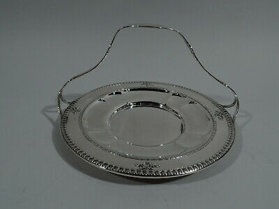 Dominick & Haff Windsor Dessert Cake Plate - A63H/60 - American Sterling Silver