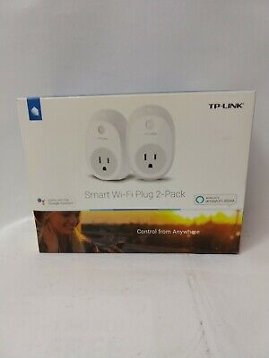TP-Link HS100 Smart Plug (2-Pack), No Hub Required, Wi-Fi, Works with Alexa