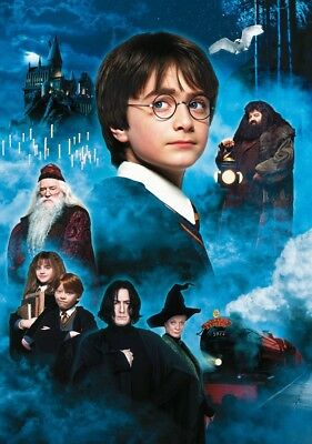HARRY POTTER & THE PHILOSOPHER'S STONE Movie PHOTO Print POSTER Textless Art 001