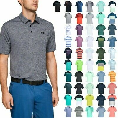 Under Armour Mens 2019 Playoff Polo 2.0 Breathable Light Stretch Polo Shirt