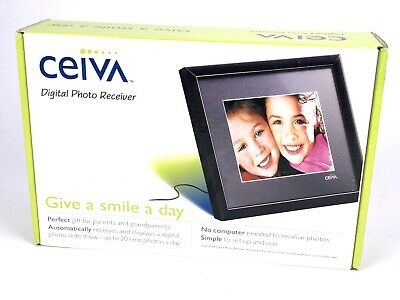 Ceiva Photo Receiver 8x10 Digital Photo Receiver Digital Photo Frame New Other
