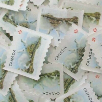 Uncancelled canada stamps (lot of 10 P stamps)