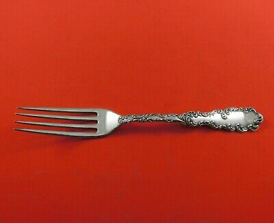 """Waverly by Wallace Sterling Silver Dinner Fork 7 1/2"""" Flatware Antique"""