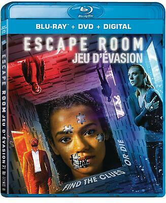 Escape Room (Blu-ray/DVD, 2019, Canadian)