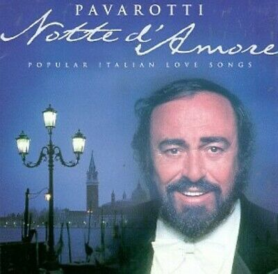 Luciano Pavarotti - Notte d'Amore (Italian Popular Love Songs) -  - CD 1998-05-1