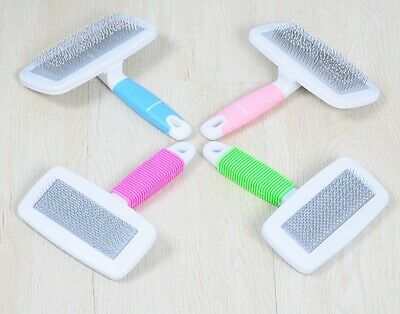 Handle Shedding Pet Dog Cat Hair Brush Pin Fur Grooming Trimmer Comb Tool
