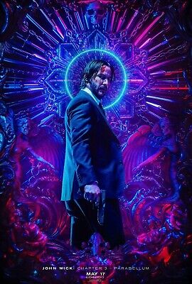 John Wick Chapter 3 Parabellum Poster (2019) Keanu Reeves - NEW - 11x17 13x19