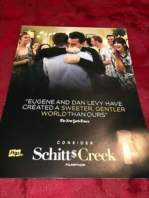 Schitts Creek Emmy FYC flash drive / Souvenir Key 2 episodes / Ad Levy O'Hara