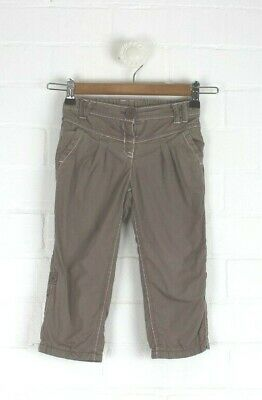 NEXT Girls Light Brown Trousers Adjustable to 3/4 Pants Size 1.5 - 2 years