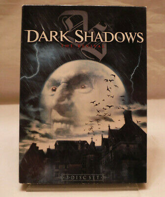 Dark Shadows The Revival - The Complete Series 3 DVD Box Set. Like New!