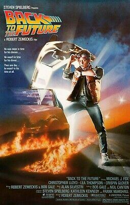 Back To The Future Part 1 Movie Poster (1985) - NEW - 11x17 13x19 - USA