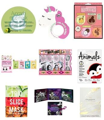 Face Masks Gift Sets NEW Kocostar MasqueBar NPW SUGU Disney Soap & Glory No7